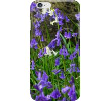 White bluebells for the iPhone iPhone Case/Skin