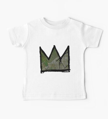 "Basquiat ""King of Beverly Hills California""  Baby Tee"