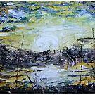 BRIGHT SUNSET by jan worden