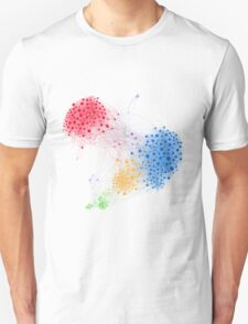 The Graph Of A Social Network T-Shirt