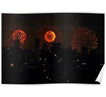 Fourth of July! New York City Poster