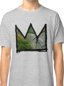 """Baquiat """"King of Silicon Valley California"""" Classic T-Shirt"""