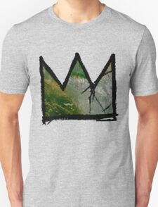 """Baquiat """"King of Silicon Valley California"""" Unisex T-Shirt"""