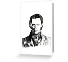 Sir Thomas Sharpe - Crimson Peak Greeting Card