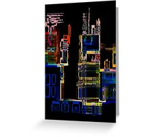 City Scape Greeting Card