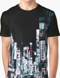 Kabukicho's Signs Graphic T-Shirt