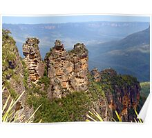 A Classic View - The Three Sisters Poster