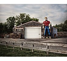 Paul Bunyan Americana Photographic Print
