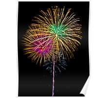 Fireworks - 4th of July Poster