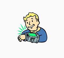 Fallout Franchise   Vault Boy using Pipboy   Logo T-Shirt