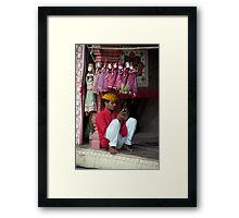 Puppet Man Framed Print