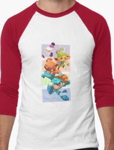 Megabomberbroszelda Men's Baseball ¾ T-Shirt