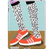 Spiffy - shoes art print memphis design style modern colorful california socal los angeles brooklyn hipster art pattern  iPad Case/Skin