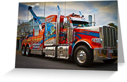 Tow Truck by Dave  Hartley