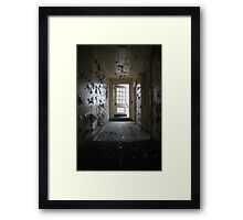 Are you ready to leave? Framed Print
