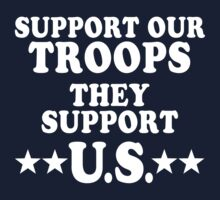 Support Our Troops by liberteed