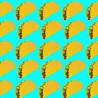 Taco Emoji Pattern by viggosaurus