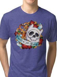 Pucha Yo Buns Tri-blend T-Shirt