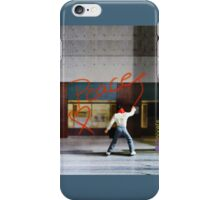 Series-Miniature-Wall Painter iPhone Case/Skin