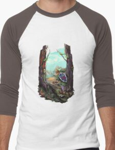 The Legend of Zelda Ocarina of Time Men's Baseball ¾ T-Shirt