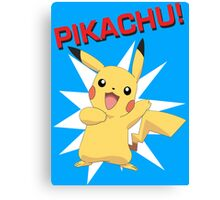 Pikachu! Canvas Print