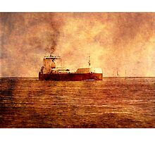 Great Lakes Shipping Photographic Print