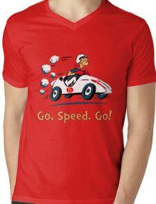 Go, Speed. Go! Mens V-Neck T-Shirt