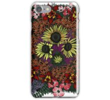 Flower Collage iPhone Case/Skin