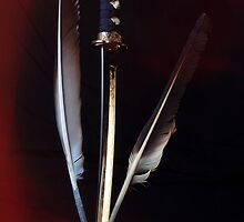 The Quill Is Mightier Than The Sword by Ian Creek