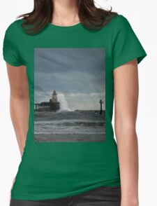 Rough seas at the harbour mouth T-Shirt