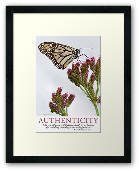 Authenticity by Lisa Frost