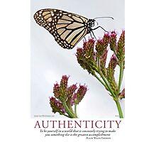 Authenticity Photographic Print