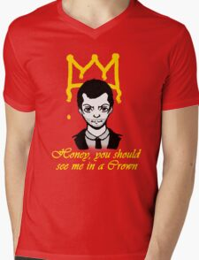 Honey you should see me in a crown Mens V-Neck T-Shirt