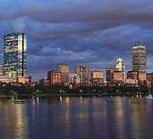 Boston Harbor by CJ Fuchs