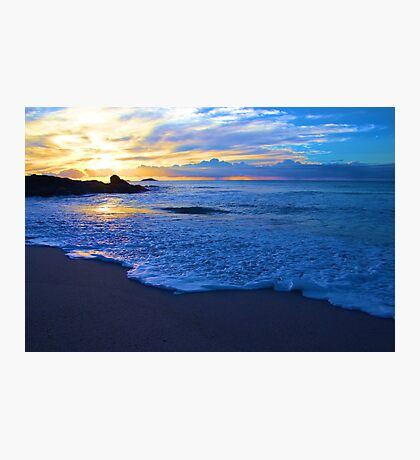 Ocean Sunrise in Australia Photographic Print
