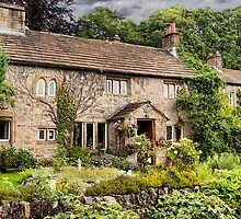English Country Cottage  by Irene  Burdell