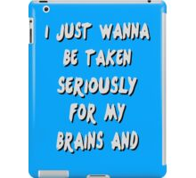 Brains And Stuff Girls iPad Case/Skin