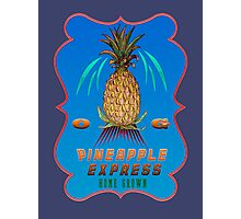 Weed Pineapple medicinal drug  gifts Photographic Print