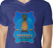 Weed Pineapple medicinal drug  gifts Mens V-Neck T-Shirt