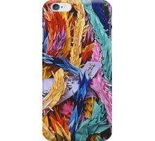 Origami Cranes - Peace Park Hiroshima, August 6 2003 iPhone Case/Skin