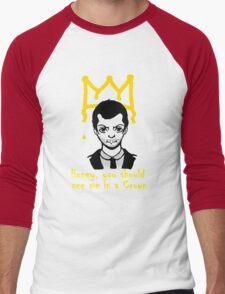 The Crown Men's Baseball ¾ T-Shirt