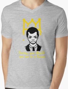 The Crown Mens V-Neck T-Shirt