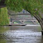 The River Cam by Hilda Rytteke
