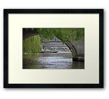 The River Cam Framed Print