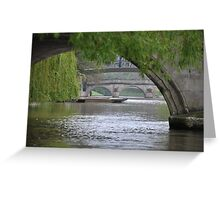 The River Cam Greeting Card