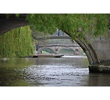 The River Cam Photographic Print