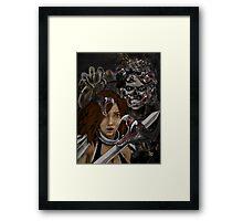 THE FEAR FACTOR ! Framed Print