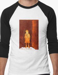 Stuck in the doorway etching/digital T-Shirt