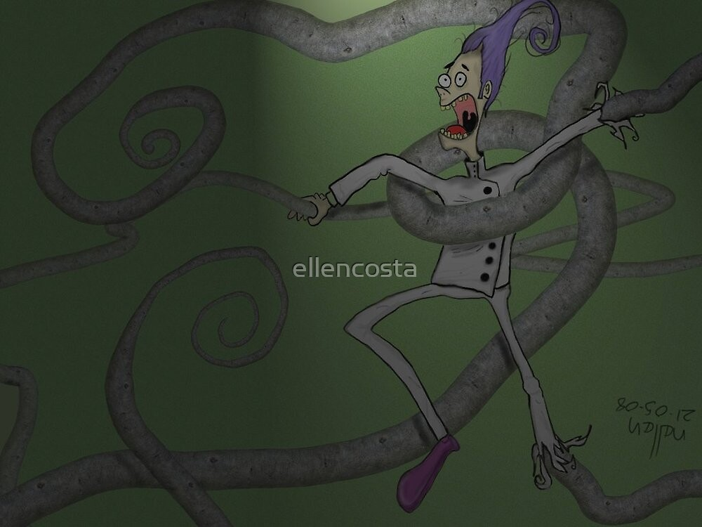 Tentacles by ellencosta