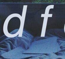 idfc blackbear Sticker